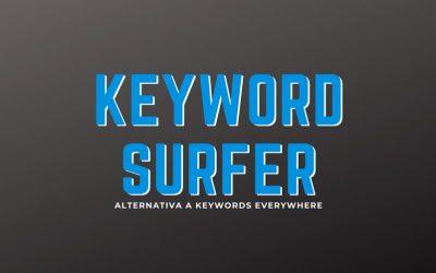 Keyword Surfer, extensión para ver volumen de Keywords gratis