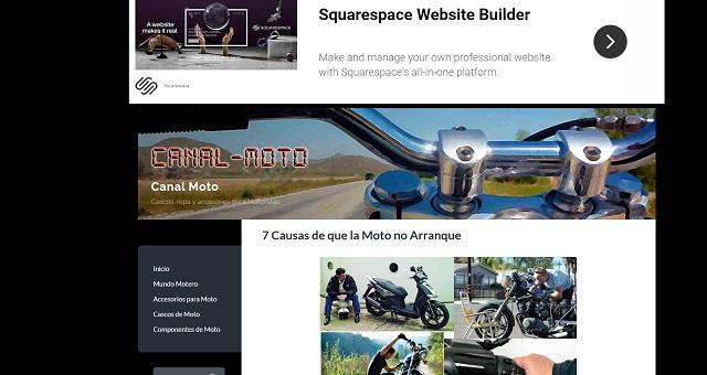 ejemplo web motos