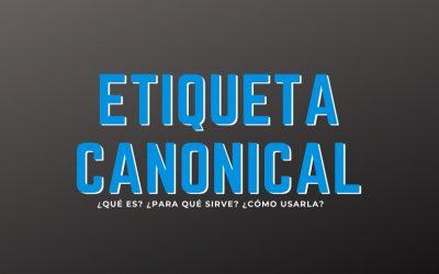 Etiqueta Canonical, ¿Qué es, para qué sirve y cómo usarla?