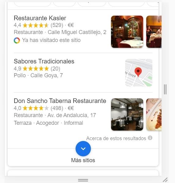restaurante cerca